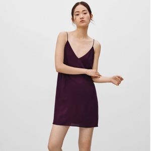 NWOT Wilfred Free Vivienne Slip Dress